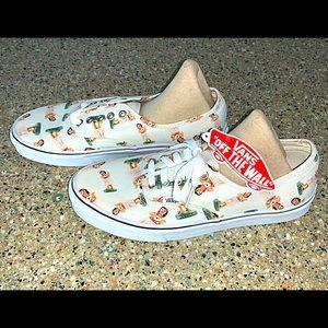 VANS Hula Girl Lace Up Hawaii Shoes
